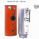 Speicherwassererwärmer Typ VVE